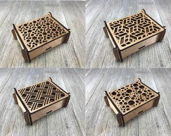 Laser cut  box 5,6,7,8