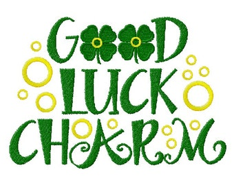 Good Luck Charm Embroidery Design