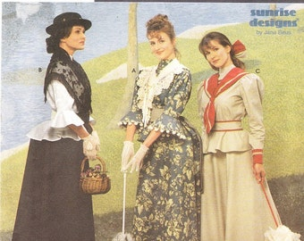 Simplicity 8375 Misses' Victorian Costume Pattern, 12-16