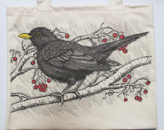 Blackbird Tote Bag