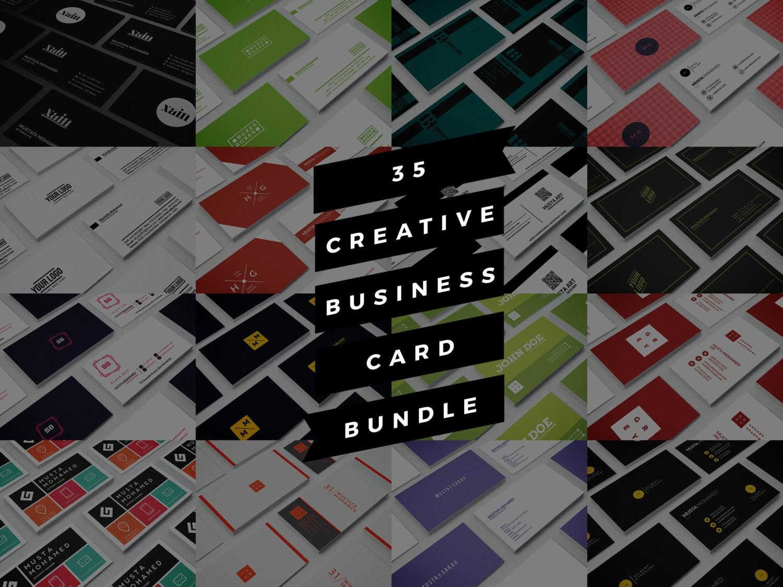 Carte De Visite Crative 35 Imprimer Design