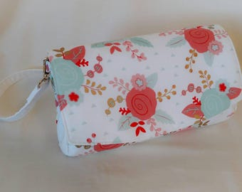 Spring Floral Convertible Clutch
