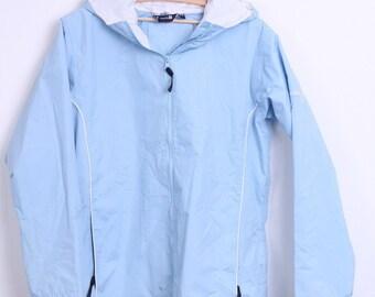 Regatta Womens 16 42 XL Jacket Light Blue Hood Outdoors