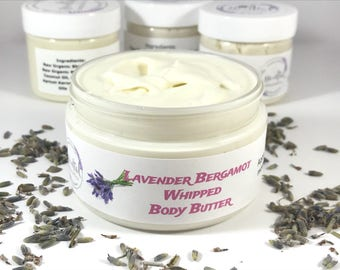 Lavender Whipped Body Butter Lavender Moisturizer For Mom Whipped Shea Butter Just Because Gift Whipped Mango Butter Gift For Wife