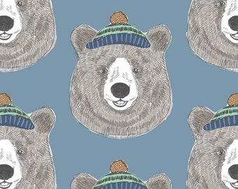 Bear Crib Bedding Black White Bear Crib Sheet - Woodland Nursery Bedding -Mini Crib Bedding Set -Changing Pad Covers -Fitted Crib Sheets