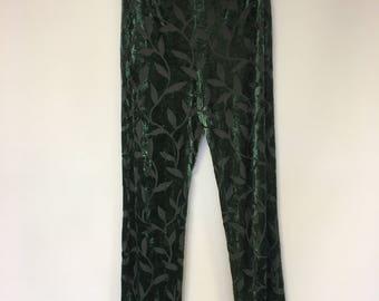 Beautiful Marc Cain Sheer Velvet leggings pants size 40 (DE)