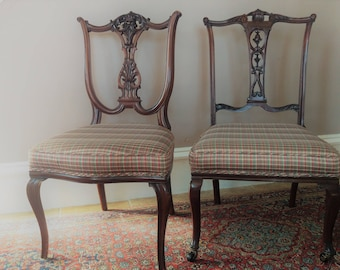 His And Hers Chairs Etsy