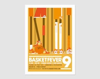 Print - Affiche Basketfever No9 - 50x70