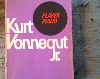 1952 First Edition Kurt Vonnegut Player Piano Book