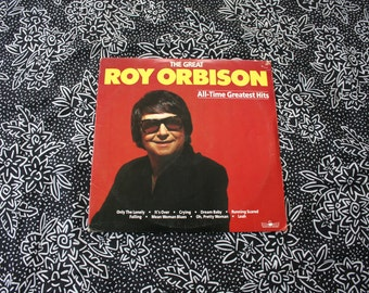 Roy Orbison - All Time Greatest Hits - Vintage Vinyl Double 2x LP - 1986 Roy Orbison Greatest Hits Album. Pretty Woman. In Dreams.