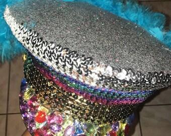 Rainbow Festival Hat