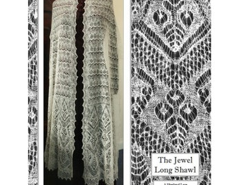 The  Jewel Long Shawl pdf only