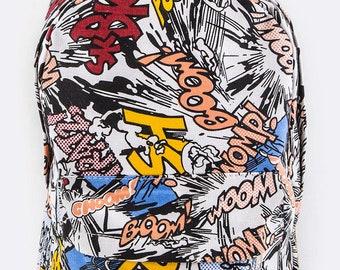 Comic Book Backpack