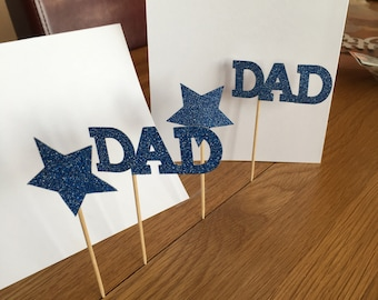 Cake topper.   For dad