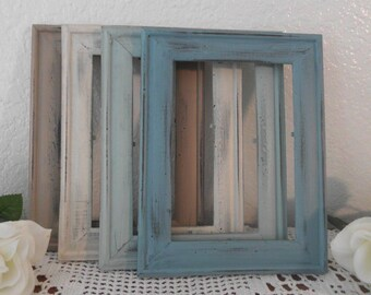 Beach Cottage Picture Frame 5 x 7 Photo Decoration Rustic Shabby Chic Distressed Wood Coastal Seaside Tropical Island Nautical Home Decor