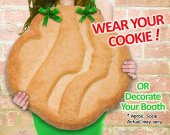 """WEAR Your COOKIE! Girl Scout """"Shortbread"""" Cookies Booth Poster Decoration PRINTABLE Sign 19x19"""" Large"""