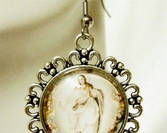 Immaculate conception of Mary earrings - AP06-108