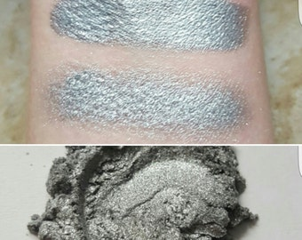 Nyx - Silver, High Sparkle, Mineral Eyeshadow, Mineral Makeup, Vegan