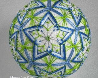 Temari pattern for sale Mema is a Star
