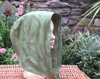 Hand Dyed Hood, Snood, Scoodie