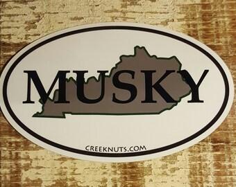 Kentucky Classic Musky Sticker Decal