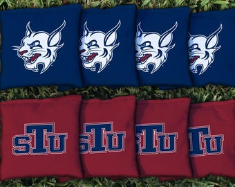 St. Thomas University STU Bobcats Cornhole Bag Set