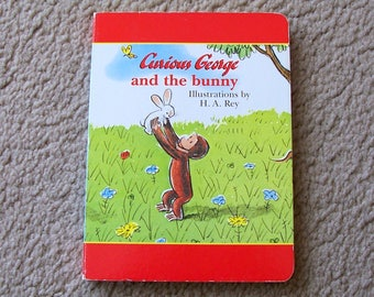 Curious George and The Bunny Board Book, H A Rey