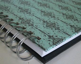 Sermon Journal - Sermon Notebook - Church Notebook - Bible Notebook - Bible Journal - Sermon Notes - Journal - Christian Gift - Damask