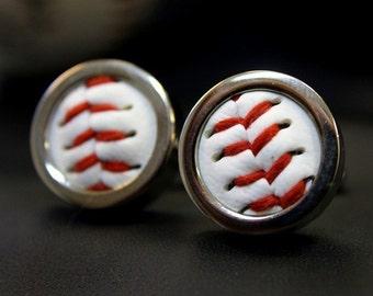 Real Baseball Custom Cuff Links