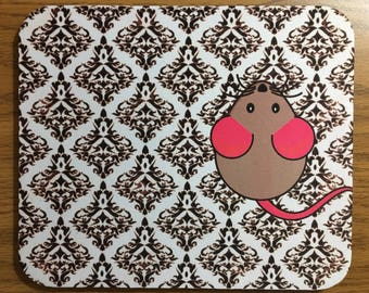 Mouse on a Mouse-pad