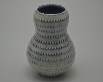 Striped Dot Vase