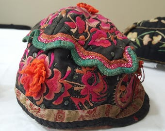 Antique Children's Hats from China