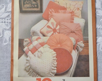Simplicity House Pattern 117 10 Pillows How To DIY Sewing Supplies PanchosPorch