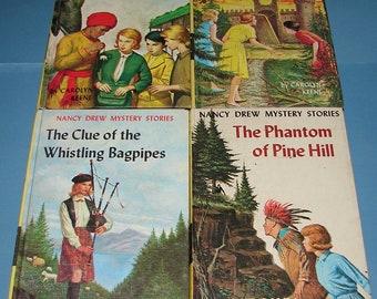 4 Nancy Drew #13, 40, 41, 42