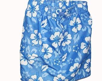 Toddler's Hawaiian Beach Skirt Size 18 Mos