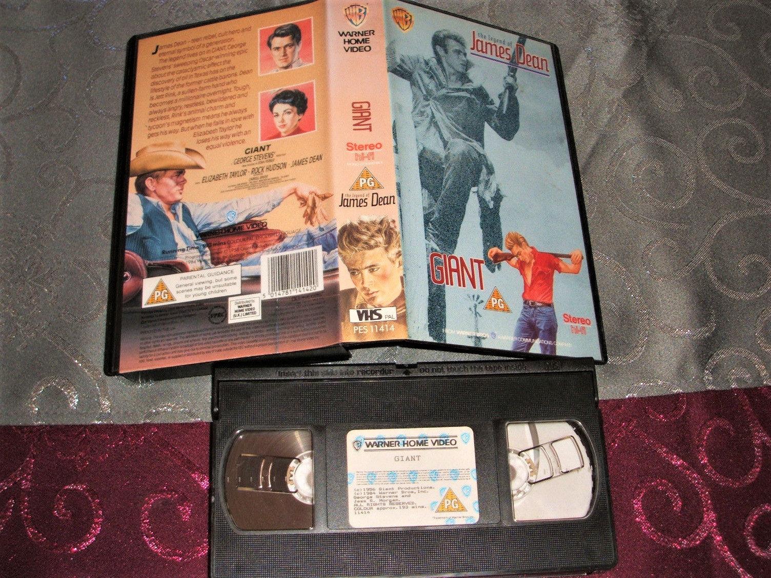 Die Legende von James Dean / / Riesen / / VHS-Cassette