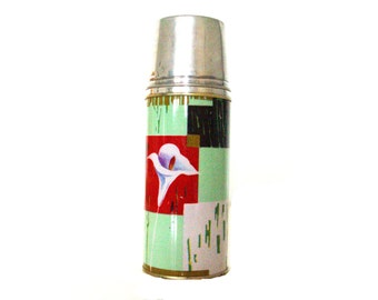 Vintage Chinese Thermos,