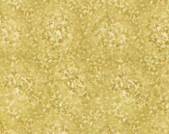 Fabric Fusions Metallic Regent Gold Cream Quilting Fabric by Robert Kaufman