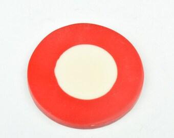 Bakelite Disc  Pendant 50mm sold by each N5003