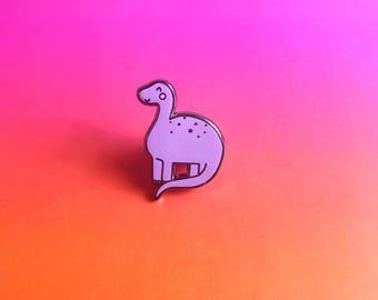 Dinosaur Enamel Lapel Pin | cute enamel pin hat badge jurassic park