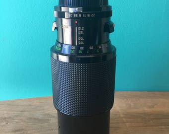 Vivitar Telephoto Lens 70-210mm - Nikon Mount