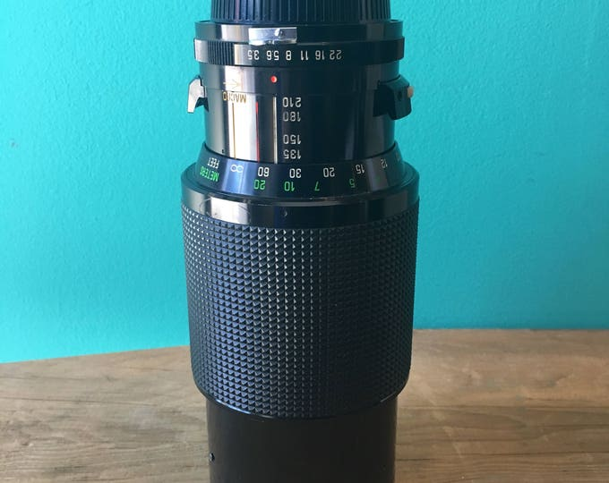 Vivitar Telephoto Lens 70-210mm - Nikon Mount
