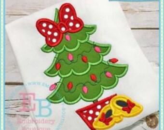 Girls Monogrammed Christmas Shirt, Disney Ruffled Shirt, Baby Girl Christmas, Sibling Shirt, Big Sister Little Sister Shirt, embroidered