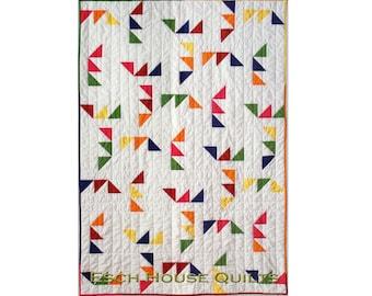 Triangle Maze PDF quilt pattern