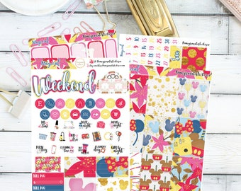 Magical Mini Kit/ Planner Stickers/ECLP