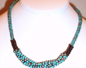 Kumihimo With a Twist Necklace