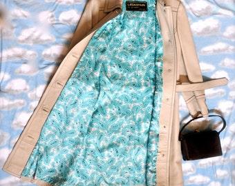 Vintage LedaSpain by Gropper Women's  Leather Coat