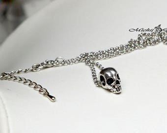 Final Fantasy XV Inspired Ignis Scientia Skull Necklace - Version B