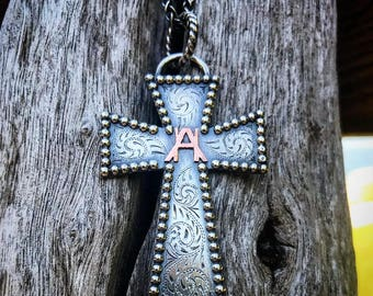 Custom Cross Necklace DEPOSIT ONLY