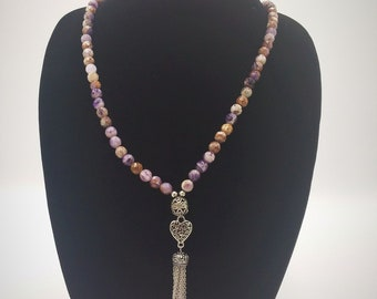 Handmade Cape Amethyst Necklace
